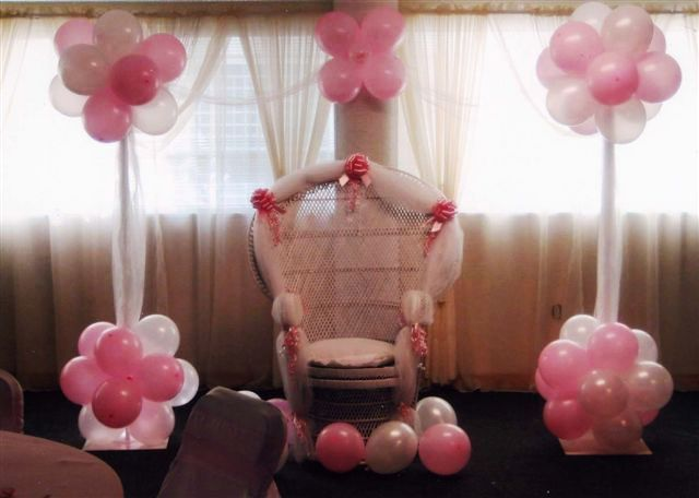Baby shower party ideas for baby girl party ideas for Baby shower at home decorations