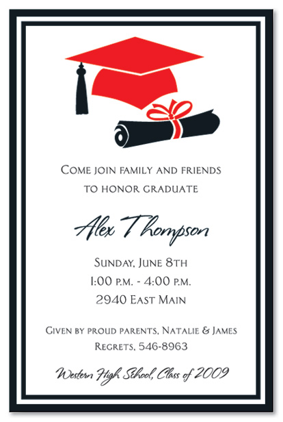 Invitations For Graduation Party could be nice ideas for your invitation template