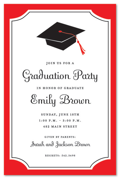 Graduation Invitation Examples could be nice ideas for your invitation template