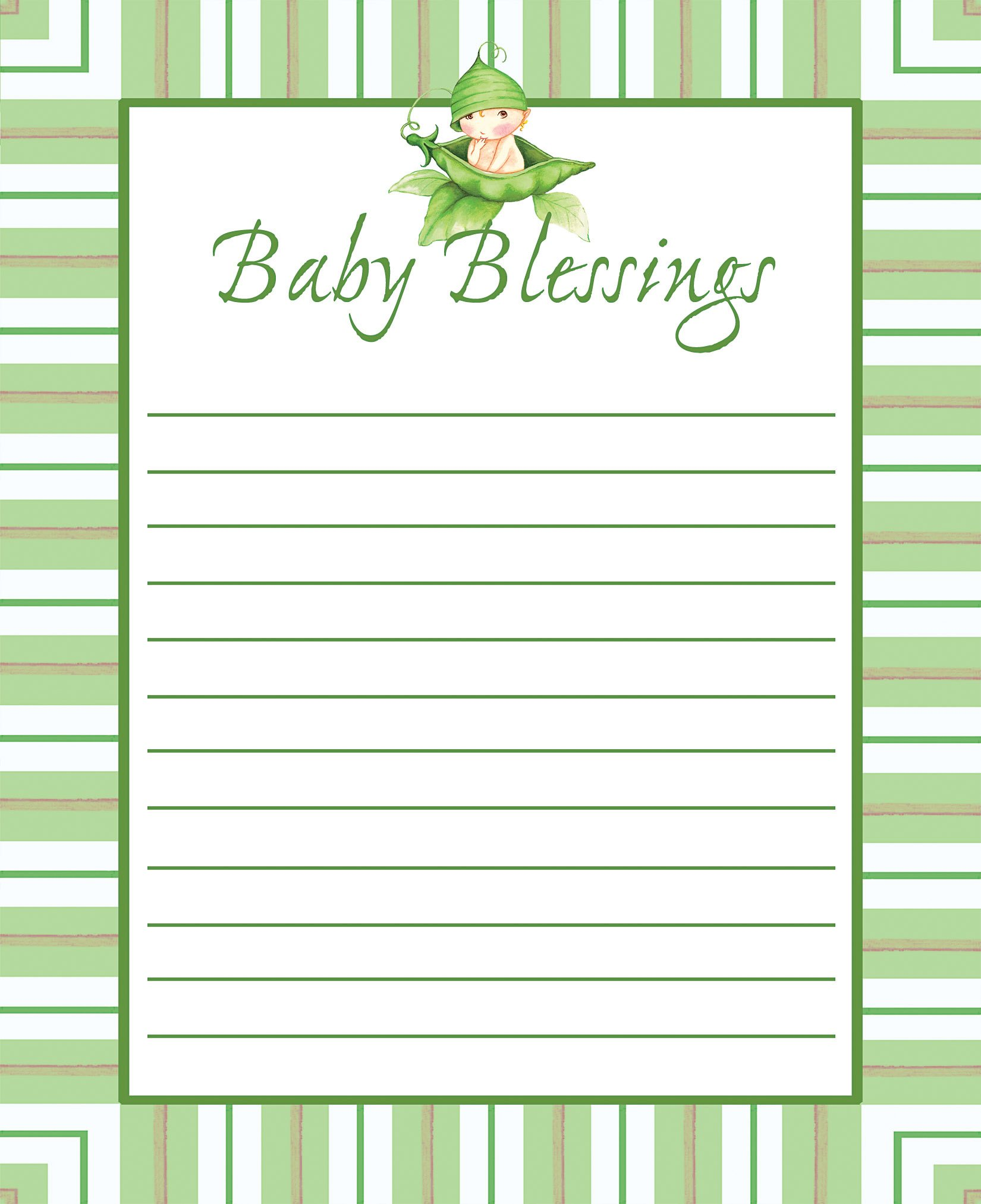 baby shower wish and advice cards party ideas