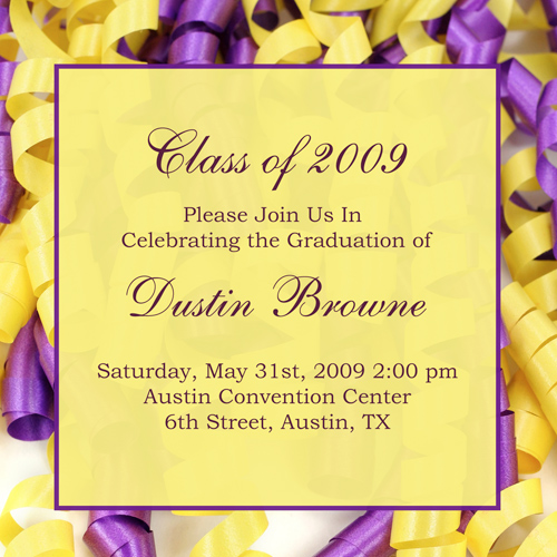 Graduation Party Invitation Ideas can inspire you to create best invitation template