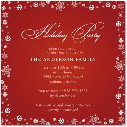 Christmas Party Invitations – Party Ideas