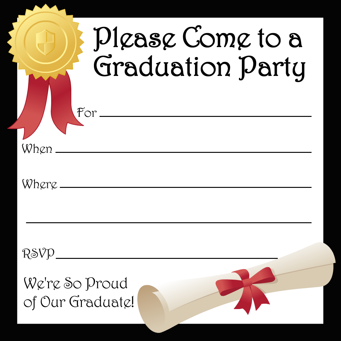 Graduation Party Invitations | Party Ideas