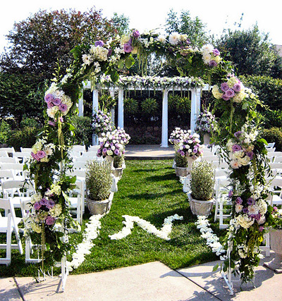 Outdoor Wedding Decoration 15 Spring Outdoor Wedding Decorations ...